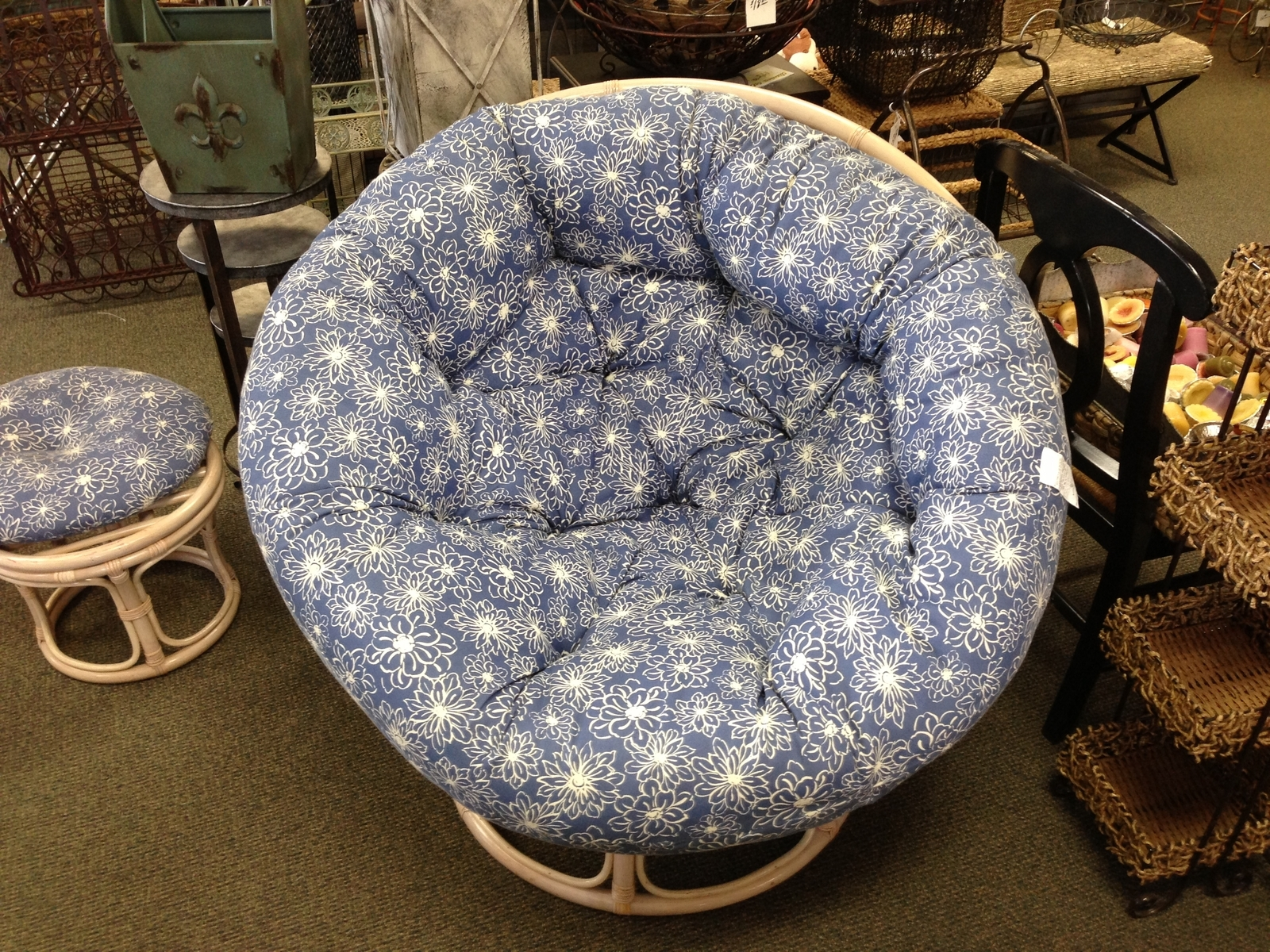 Papasan Cushion | Papasan Cushion Cover Replacement | Papasan Chair World Market