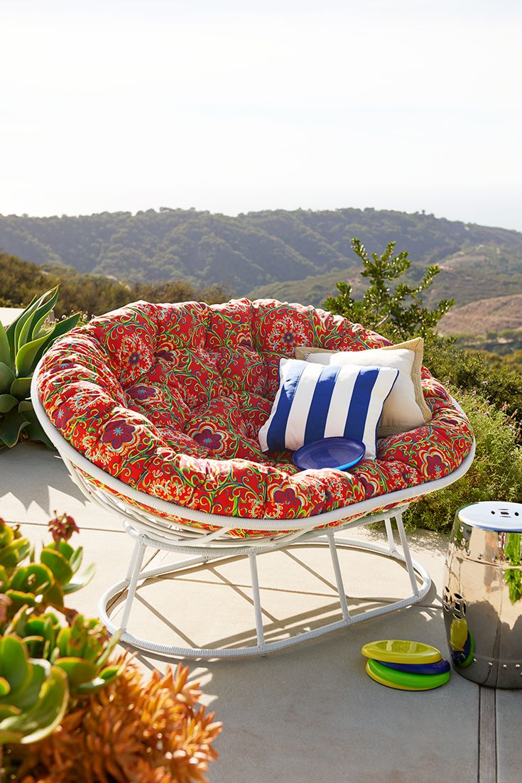 Papasan Cushion | Papasan Double Chair | Cushions For Wicker Chairs