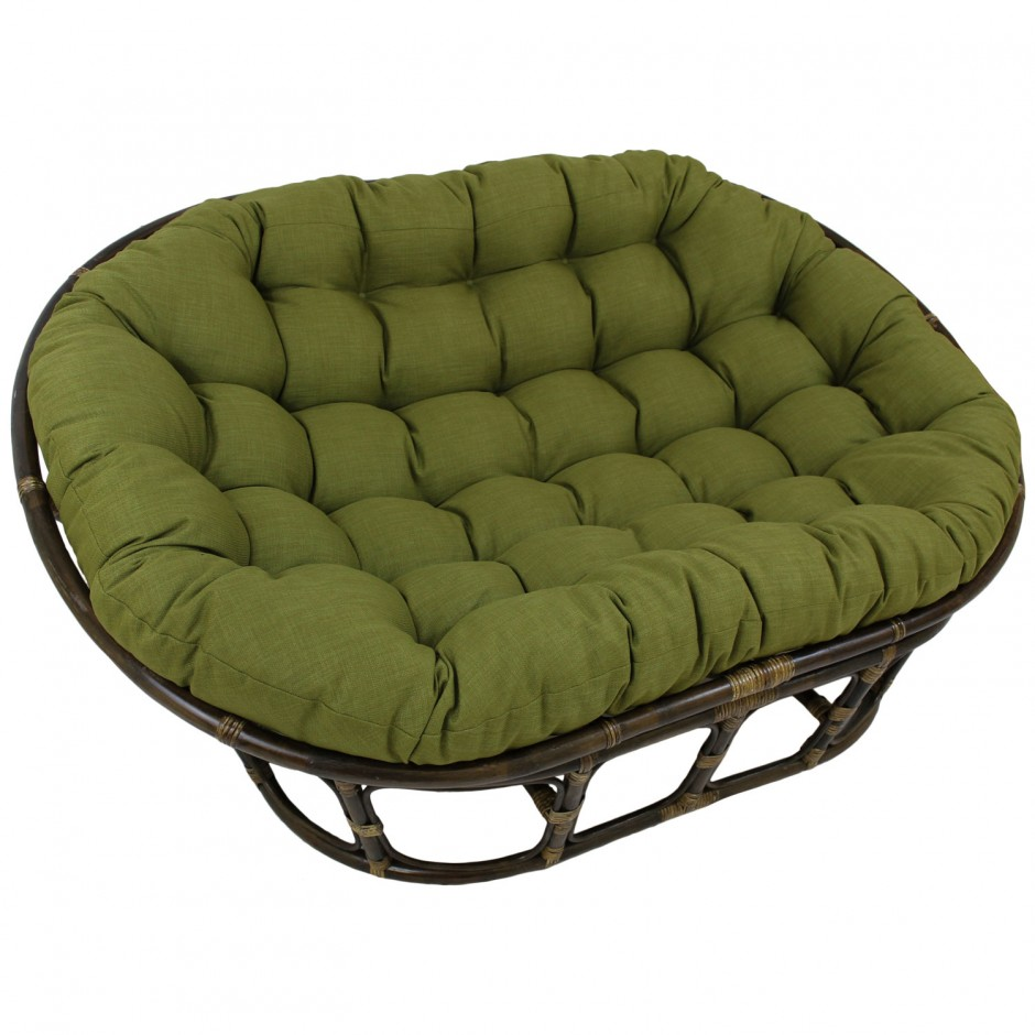 Papasan Loveseat Cushion | Papasan Cushion | Papasan Chair World Market