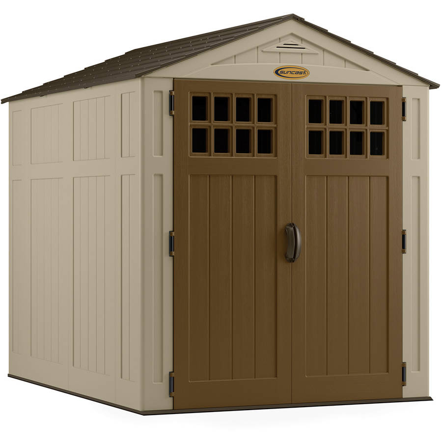 Roughneck 7x7 Shed | Rubbermaid Sheds | Rubbermaid Big Max 7 Ft X 7 Ft Storage Shed