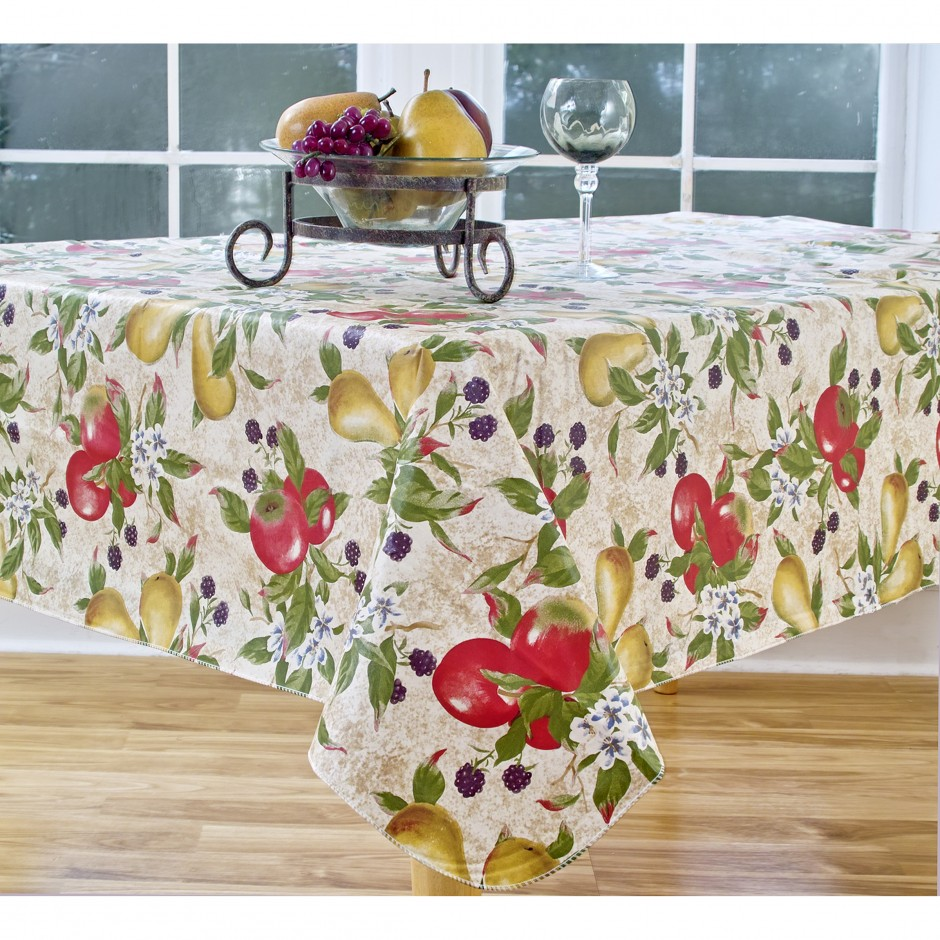 Round Cloth Tablecloths | Vinyl Tablecloths | Beautiful Tablecloths