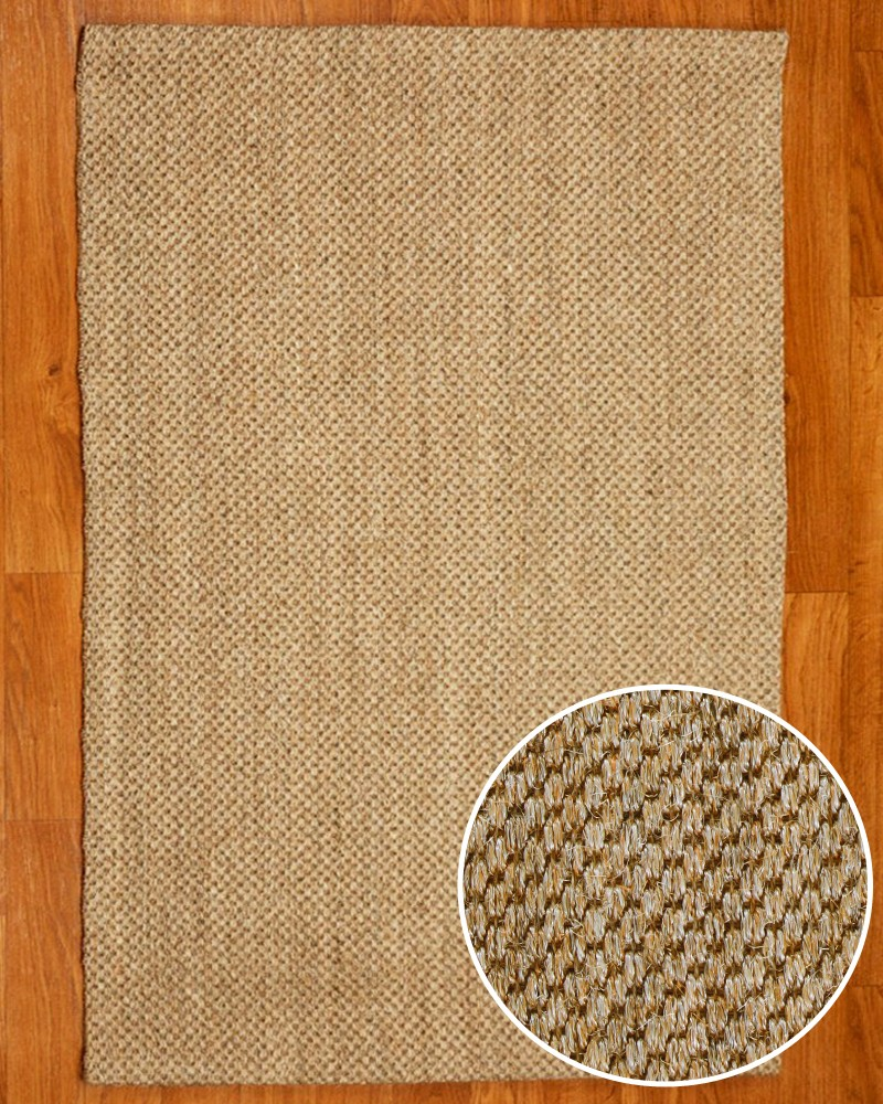 Round Jute Rug | Wool and Sisal Rugs | Sisal Rug