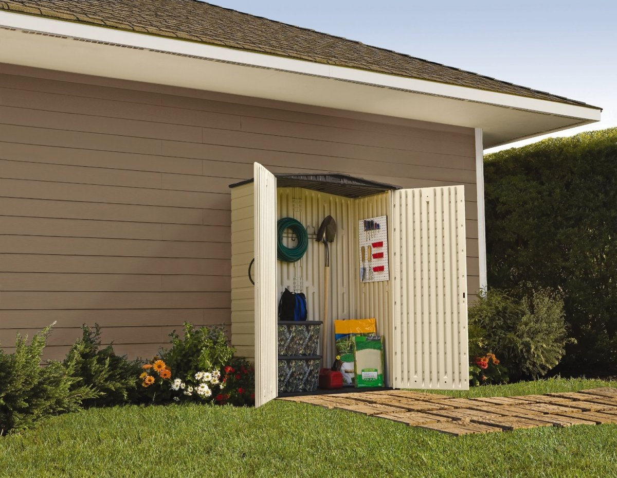 Rubbermaid Roughneck Storage Shed | Rubbermaid Sheds | Backyard Sheds Costco