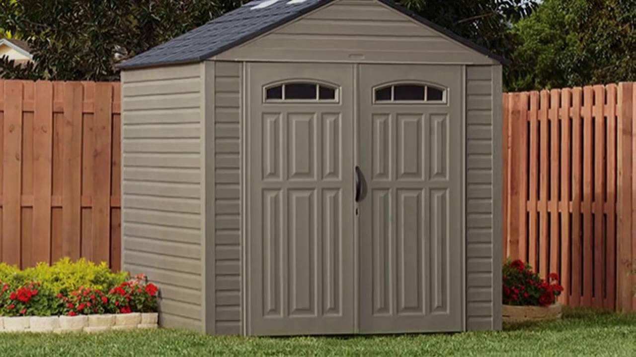 Rubbermaid Sheds | Walmart Storage Buildings | Rubbermaid Shed Accessories