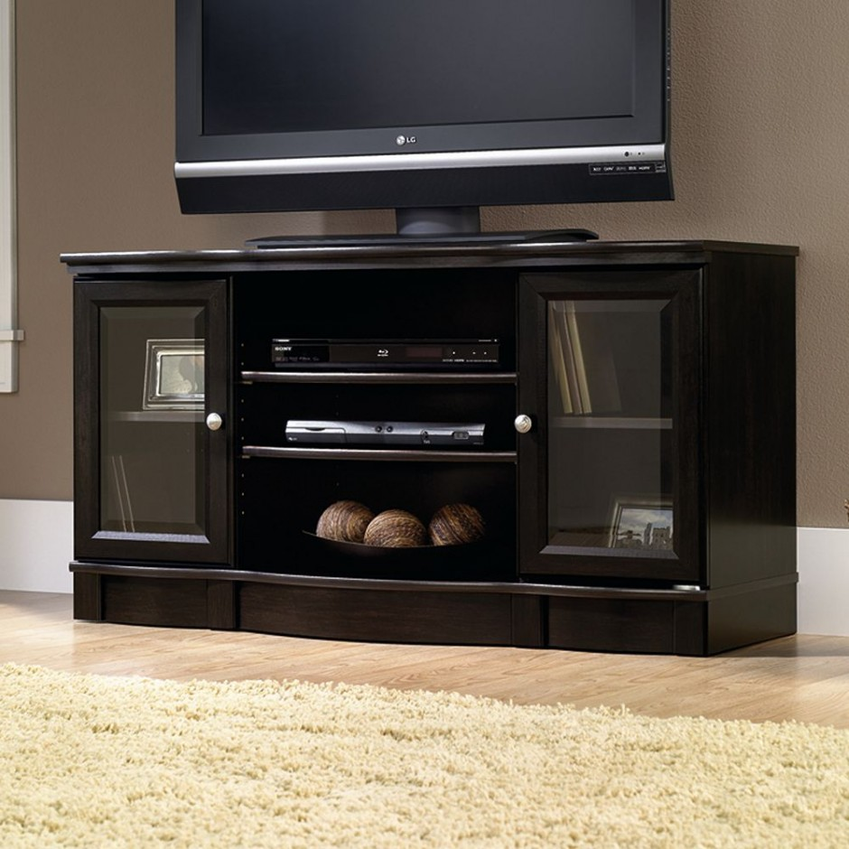 Sauder Tv Stands And Cabinets | Sauder Tv Stands | Sauder Shoal Creek Panel Tv Stand