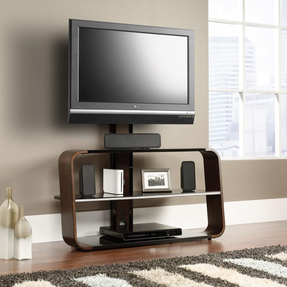 Sauder Tv Stands | Sauder August Hill Tv Stand | Highboy Media Cabinet