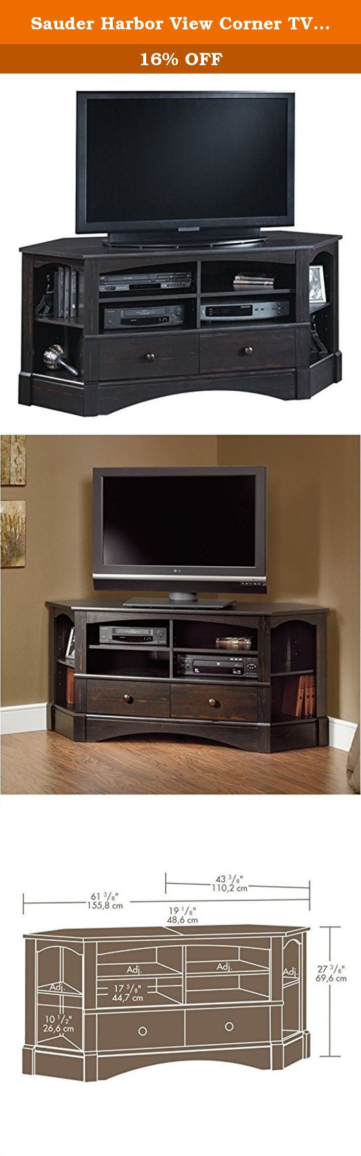 Sauder Tv Stands | Television Stands at Walmart | Highboy Wood Tv Stand