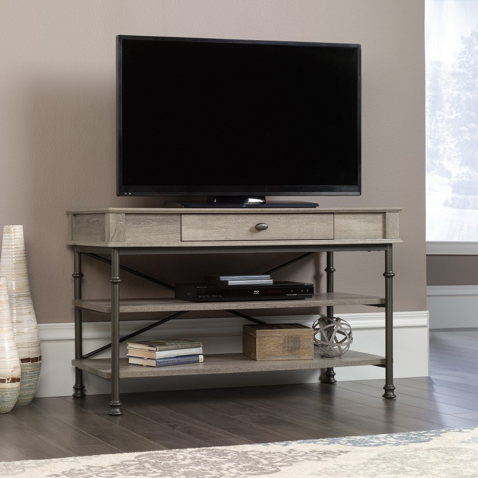 Sauder Walmart | Sauder Tv Stands | Weathered Wood Tv Stand
