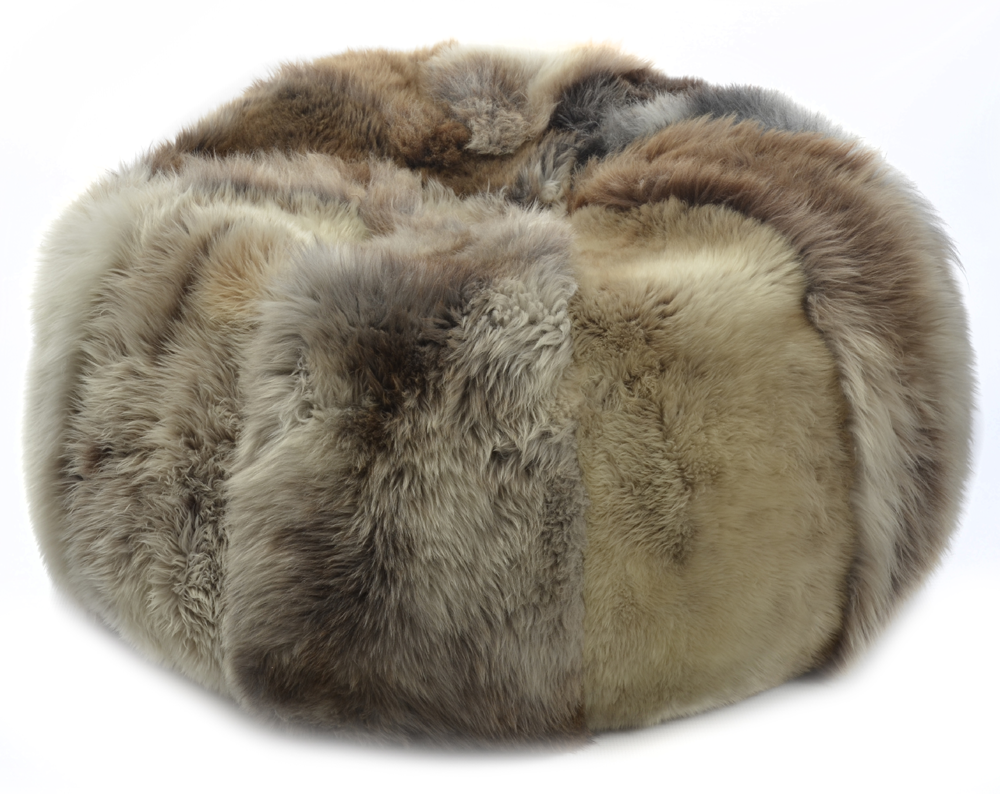 Sheepskin Beanbag | Bean Bag Cushion | Leather Bean Bag Chair