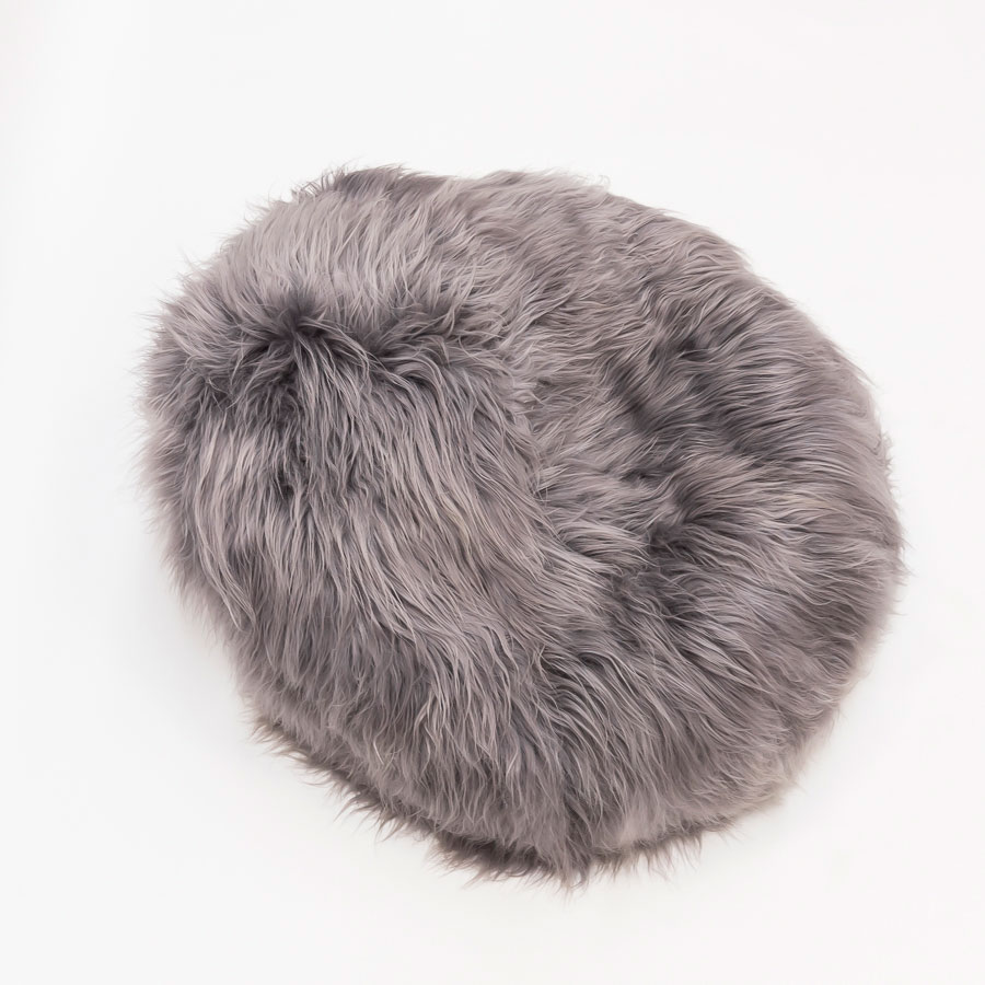 Sheepskin Beanbag | Giant Bean Bag Couch | Beanie Chairs
