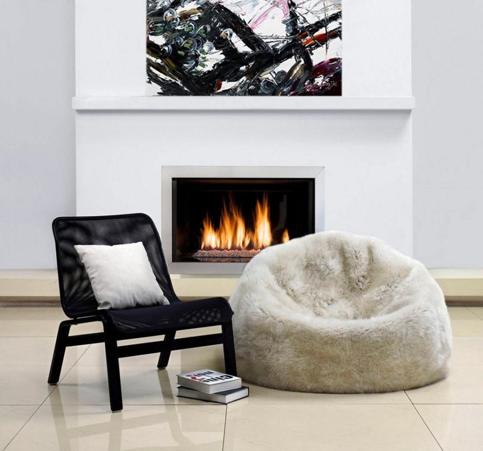 Sheepskin Beanbag | Outdoor Beanbags | Giant Bean Bag Chair
