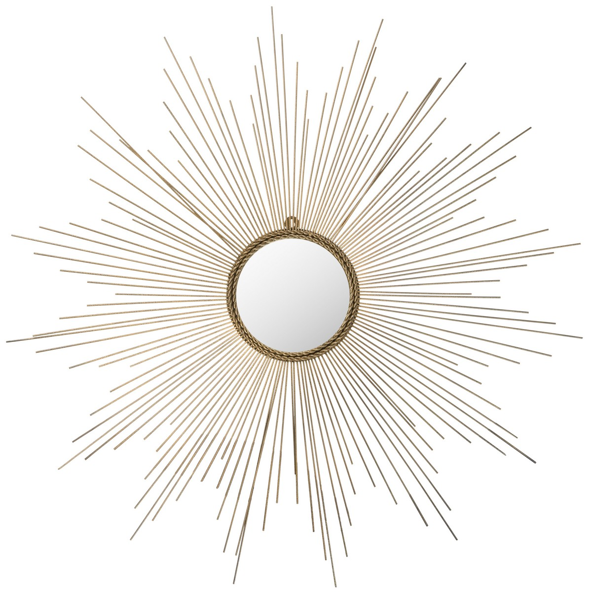 Silver Sunburst Mirror Wall Decor | Martha Stewart Sunburst Mirror | Gold Sun Mirror