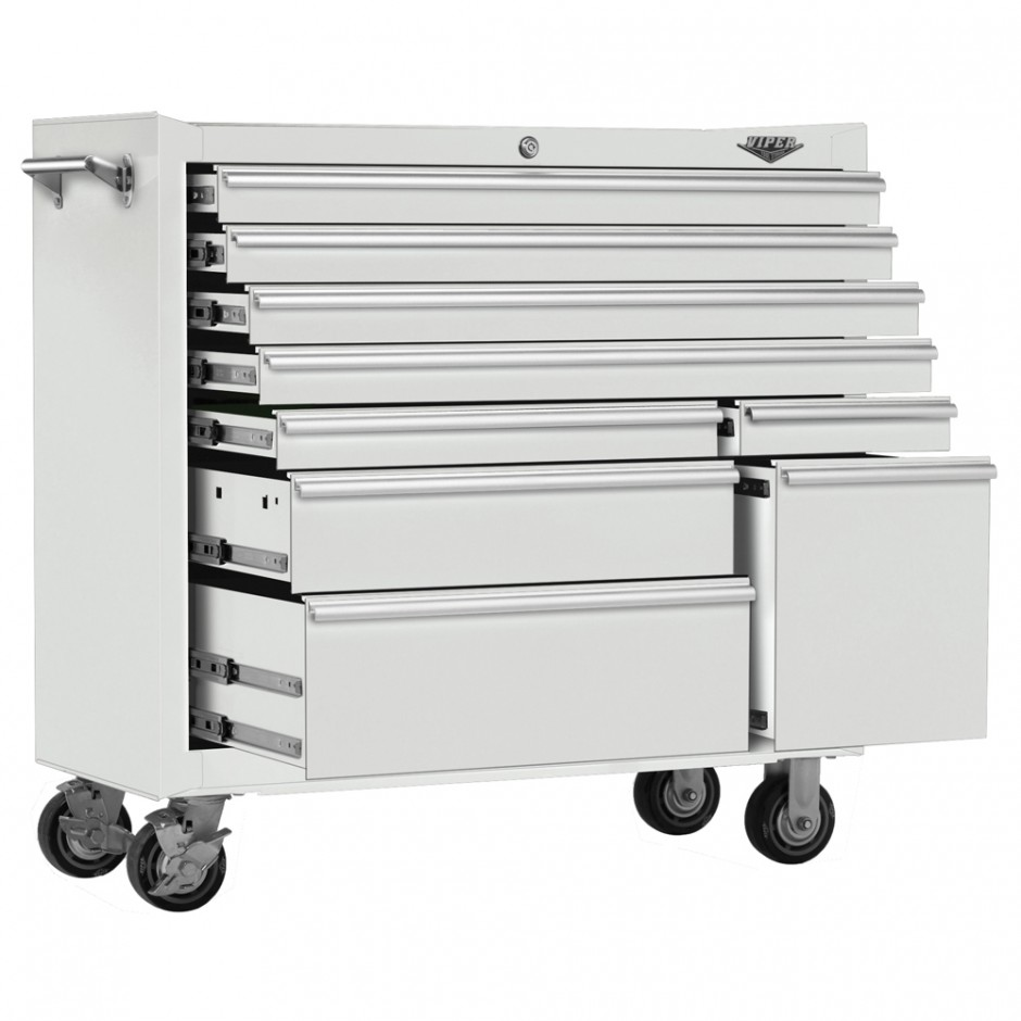 Sliding Top Tool Cart | Viper Tool Storage | Heavy Duty Rolling Tool Box