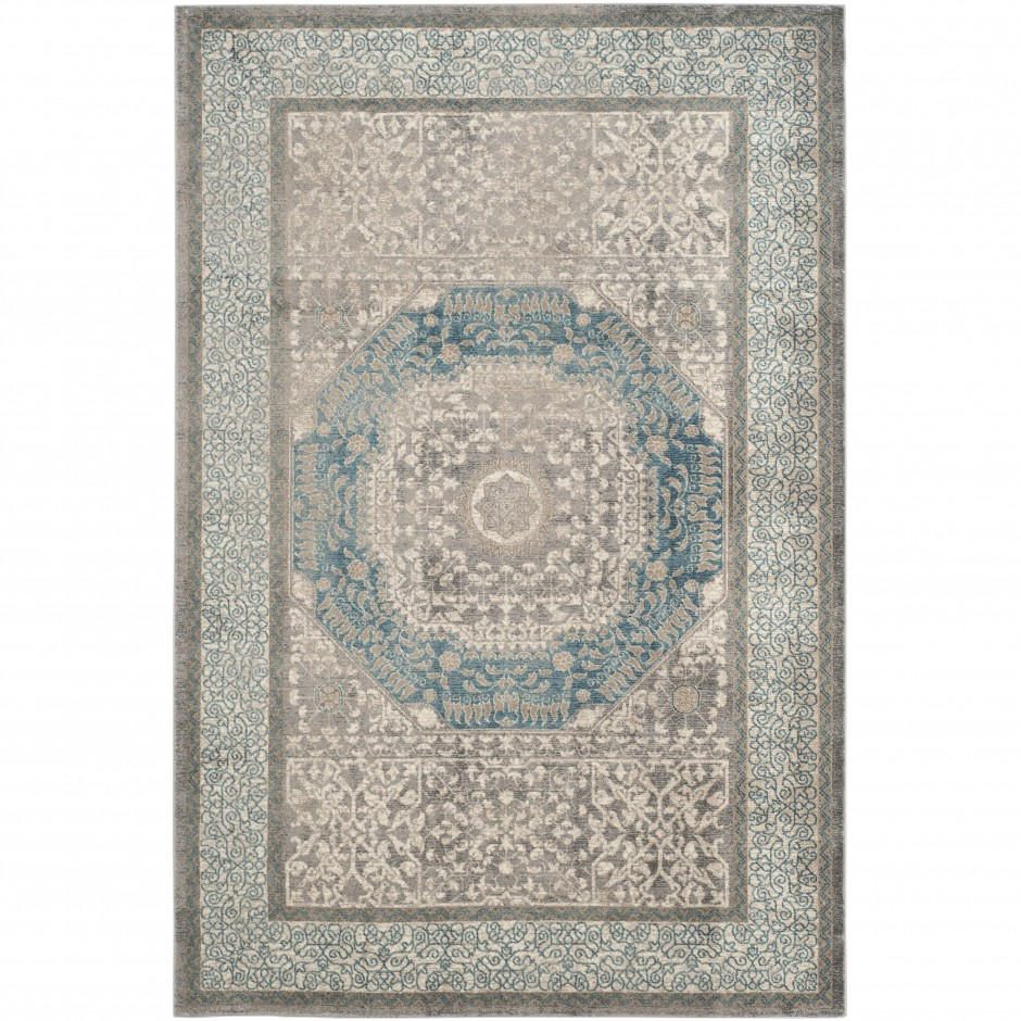 Square Rugs 7x7 | 8x10 Area Rug | 5x7 Grey Rug