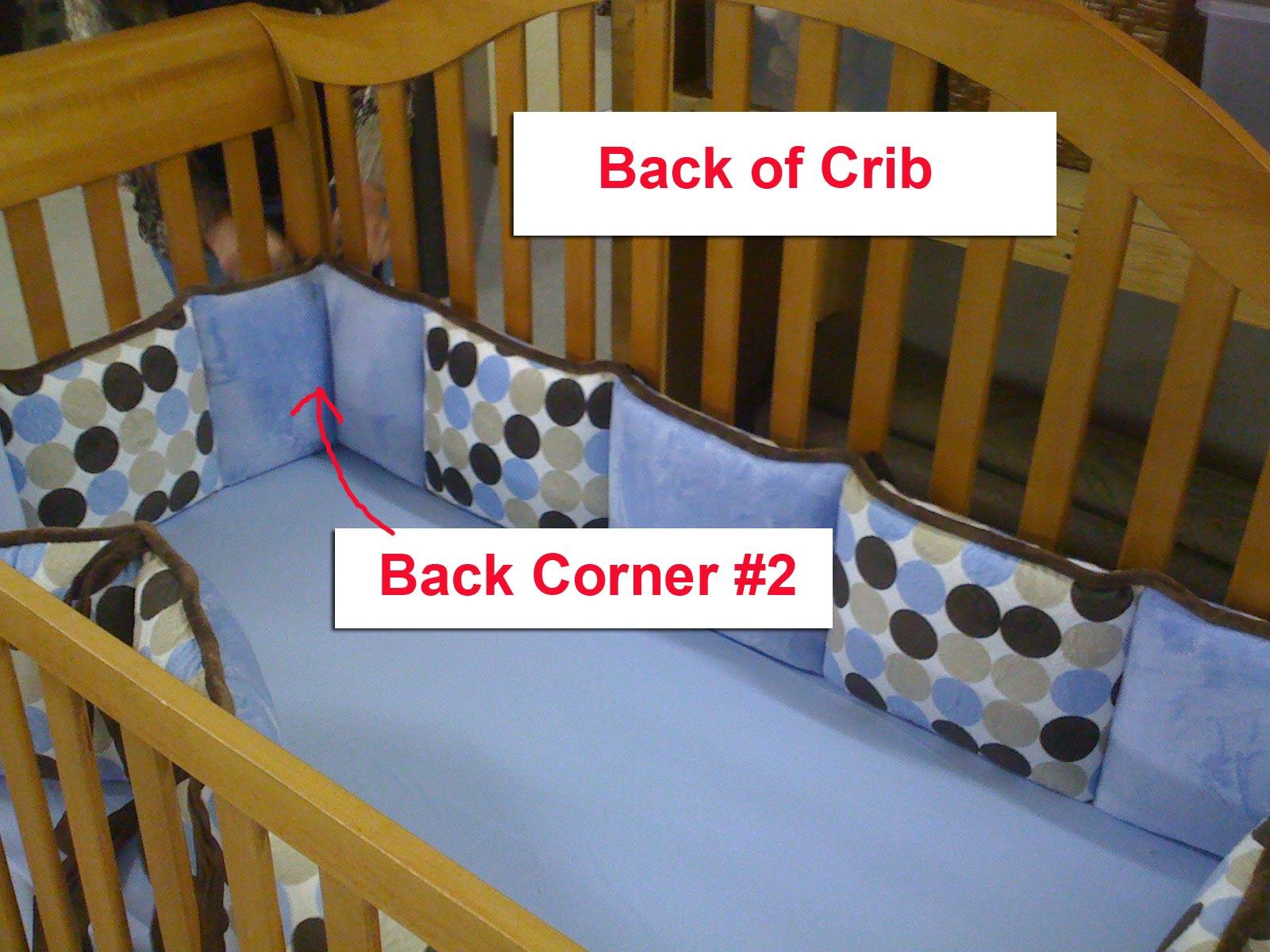 Stokke Crib Bumper | Mesh Crib Liner | Crib Bumpers