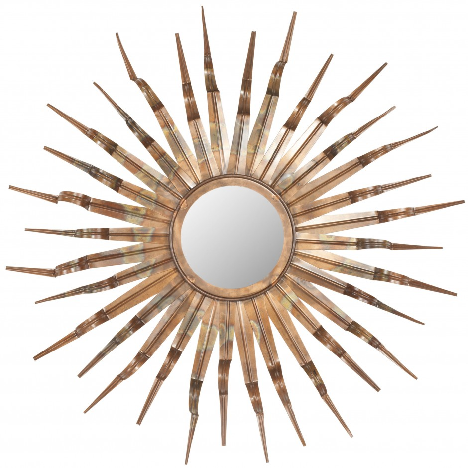 Sun Mirror Gold | Martha Stewart Sunburst Mirror | Martha Stewart Drapery Rods