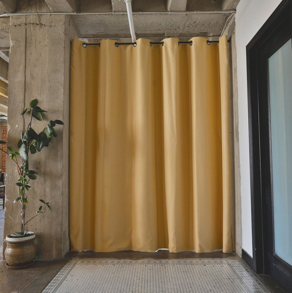 Tension Rod Room Divider | Expandable Curtain Rod | Tension Pole Shelving System