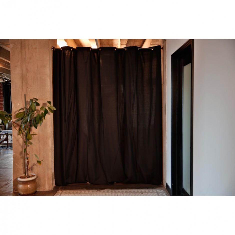Tension Rod Room Divider | Tension Rod Curtain | Diy Room Divider Curtain