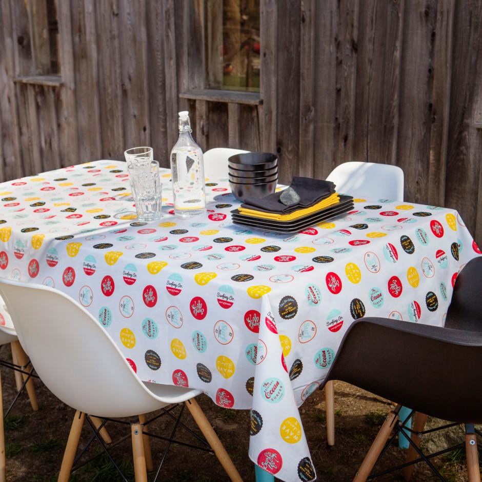Vinyl Tablecloths | Vinyl Tablecloth 60 X 84 | Heavy Vinyl Tablecloth