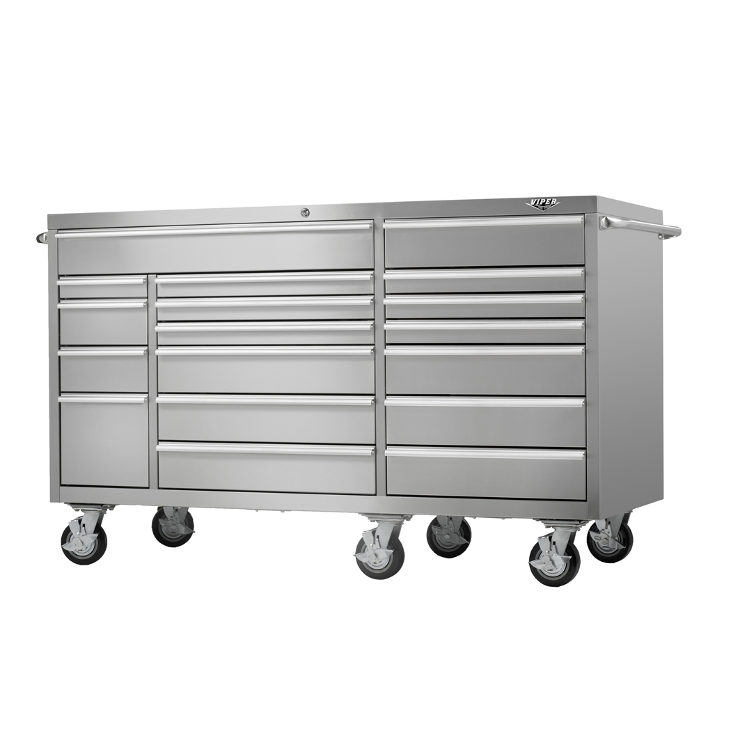 Viper Tool Storage | White Craftsman Tool Chest | Tool Box Rolling