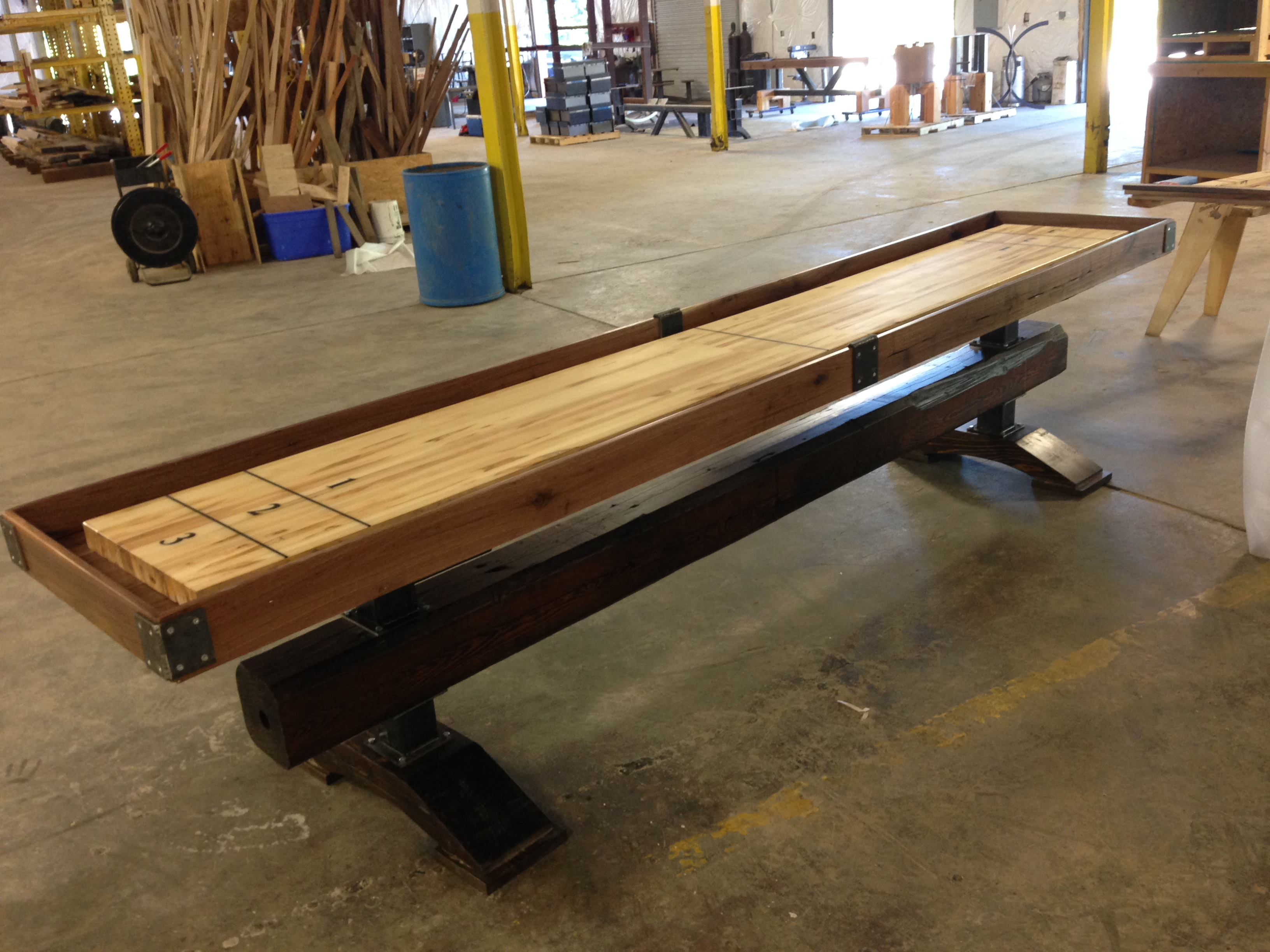 16 Foot Shuffleboard Table | Used Shuffleboards for Sale | Shuffleboard Table
