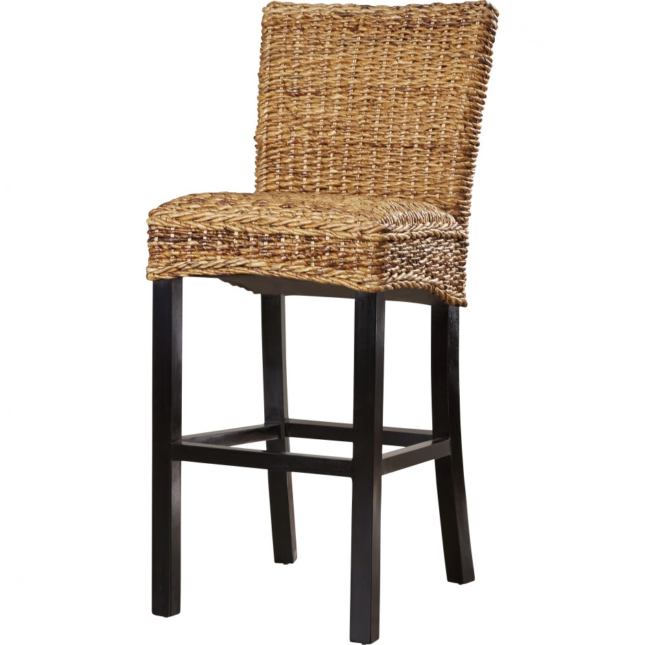 Ashley Furniture Bar Stools | Round Back Bar Stools | Seagrass Bar Stools