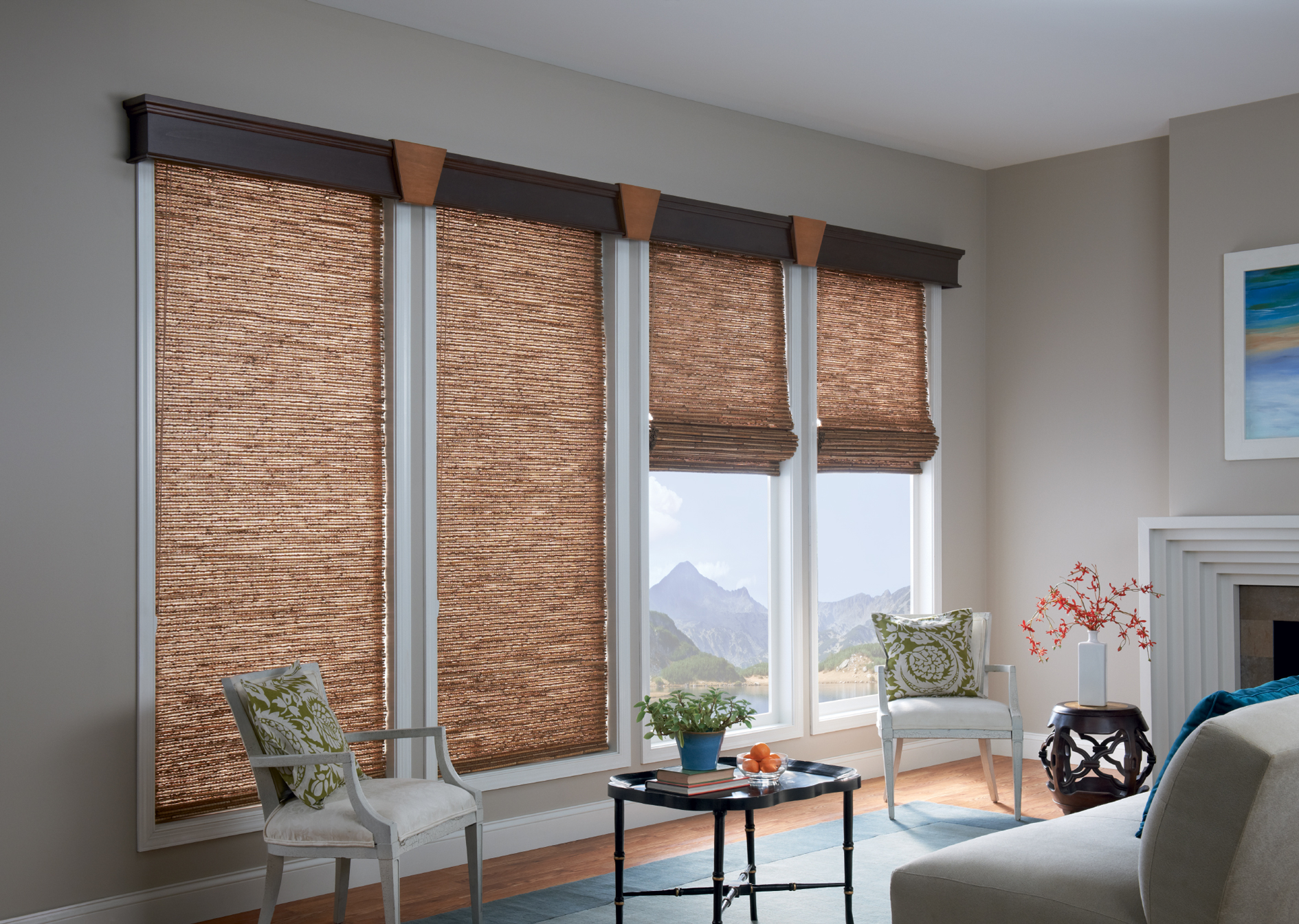 Bamboo Roll Up Blinds | Matchstick Blinds Ikea | Exterior Porch Shades