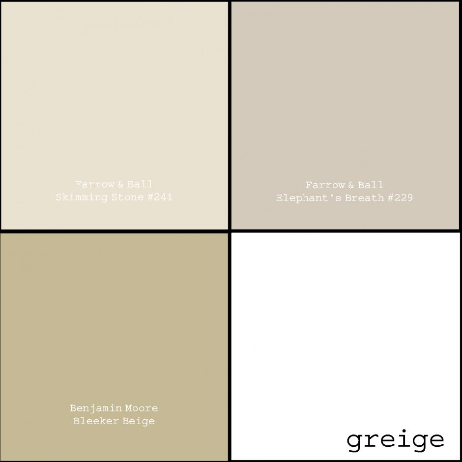 Benjamin Moore Classic Gray | Best Behr Gray | Greige Paint