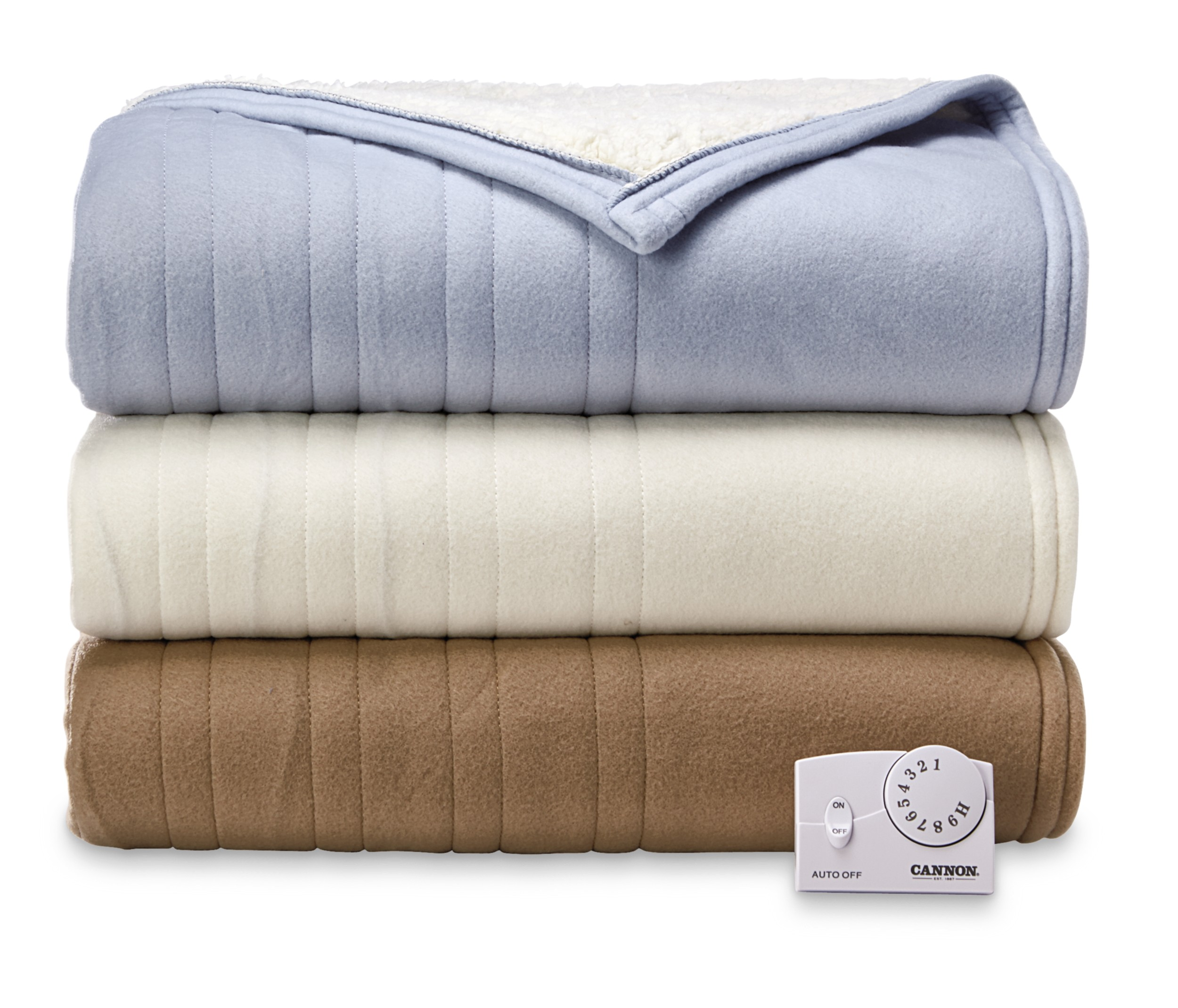 Biddeford Heated Sherpa Mattress Pad | Biddeford Electric Blanket | Electric Blanket Plug