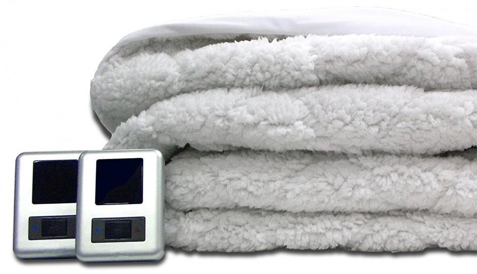 Biddeford Plush Electric Blanket | Walmart Queen Size Electric Blanket | Biddeford Electric Blanket