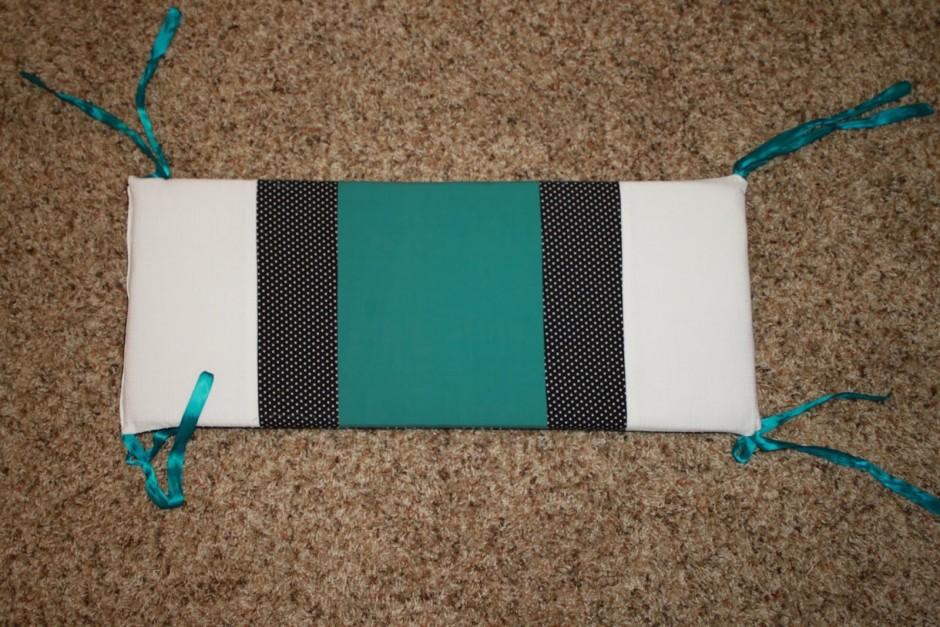 Black Crib Bumper Pad | Crib Bumper Pads | Baby Crib Bumpers