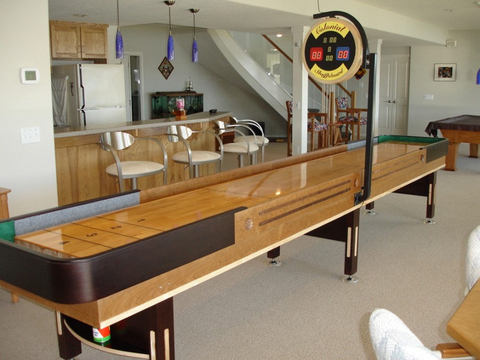 Bob Wood Shuffleboard | Shuffleboard Table | Shuffleboard Table For Home