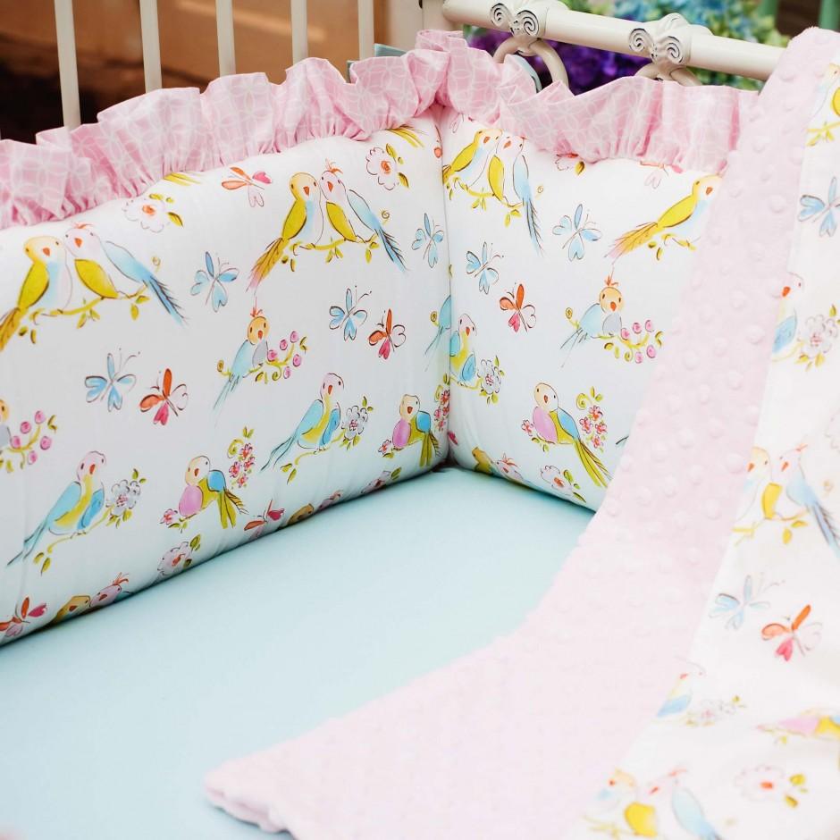 Breathable Mesh Crib Liner | Crib Bumper Pads | Breathable Crib Bumper