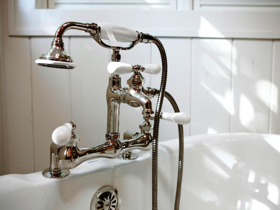 Bronze Waterfall Bathroom Faucet | Bathroom Faucets | Delta Shower System Photo