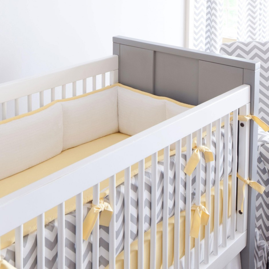 Bumpers On Cribs | Mesh Bumpers Safe | Crib Bumper Pads