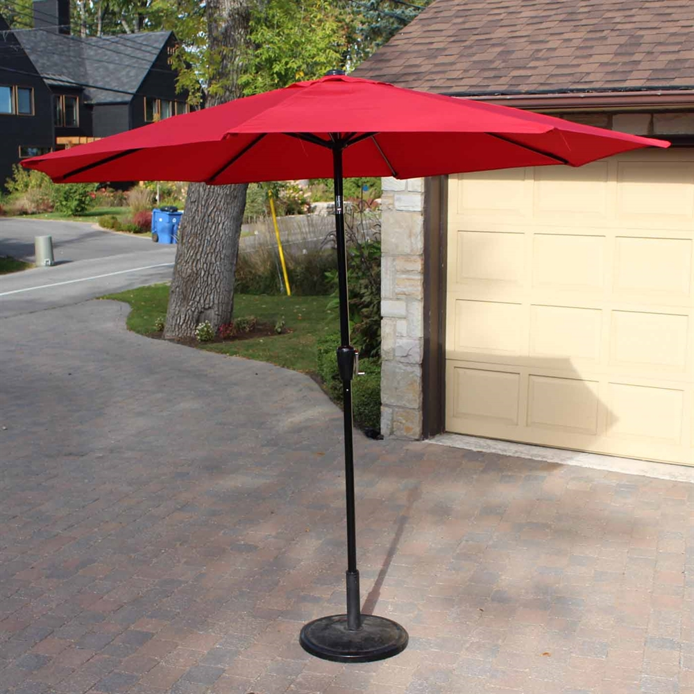Cantilever Patio Umbrella | Garden Treasures Offset Umbrella | in Pool Umbrellas for Swimming Pools