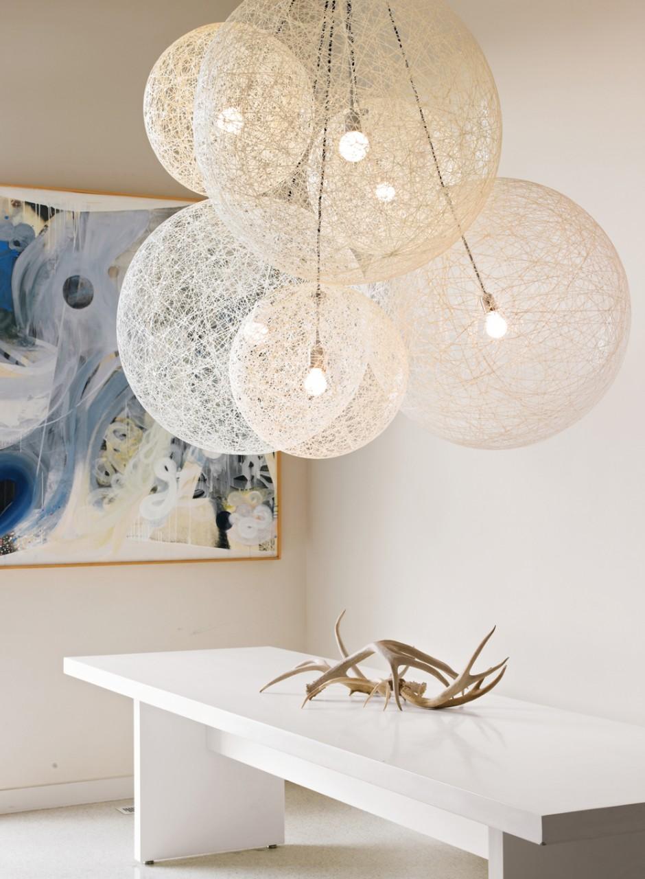 Cellula Chandelier | Cheap Vintage Chandeliers | 9 Bulb Chandelier