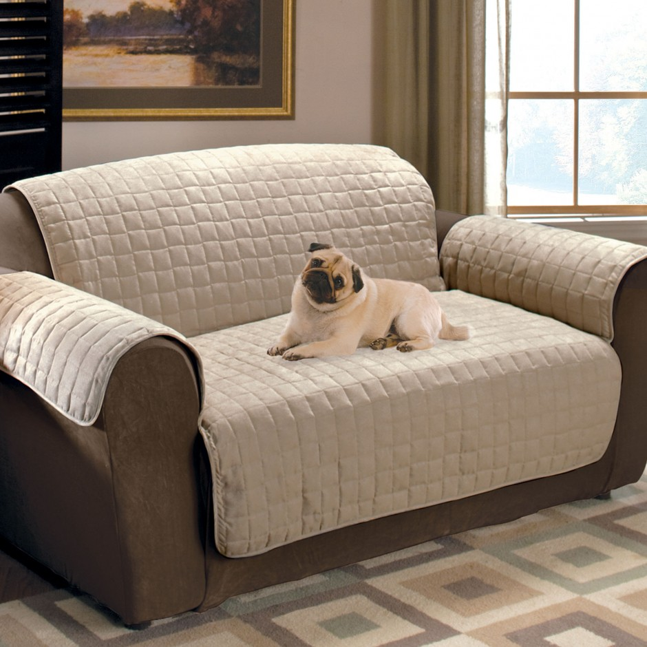 Chair Protectors   Covers For Recliners   Slipcovers For Sofas With Cushions Separate