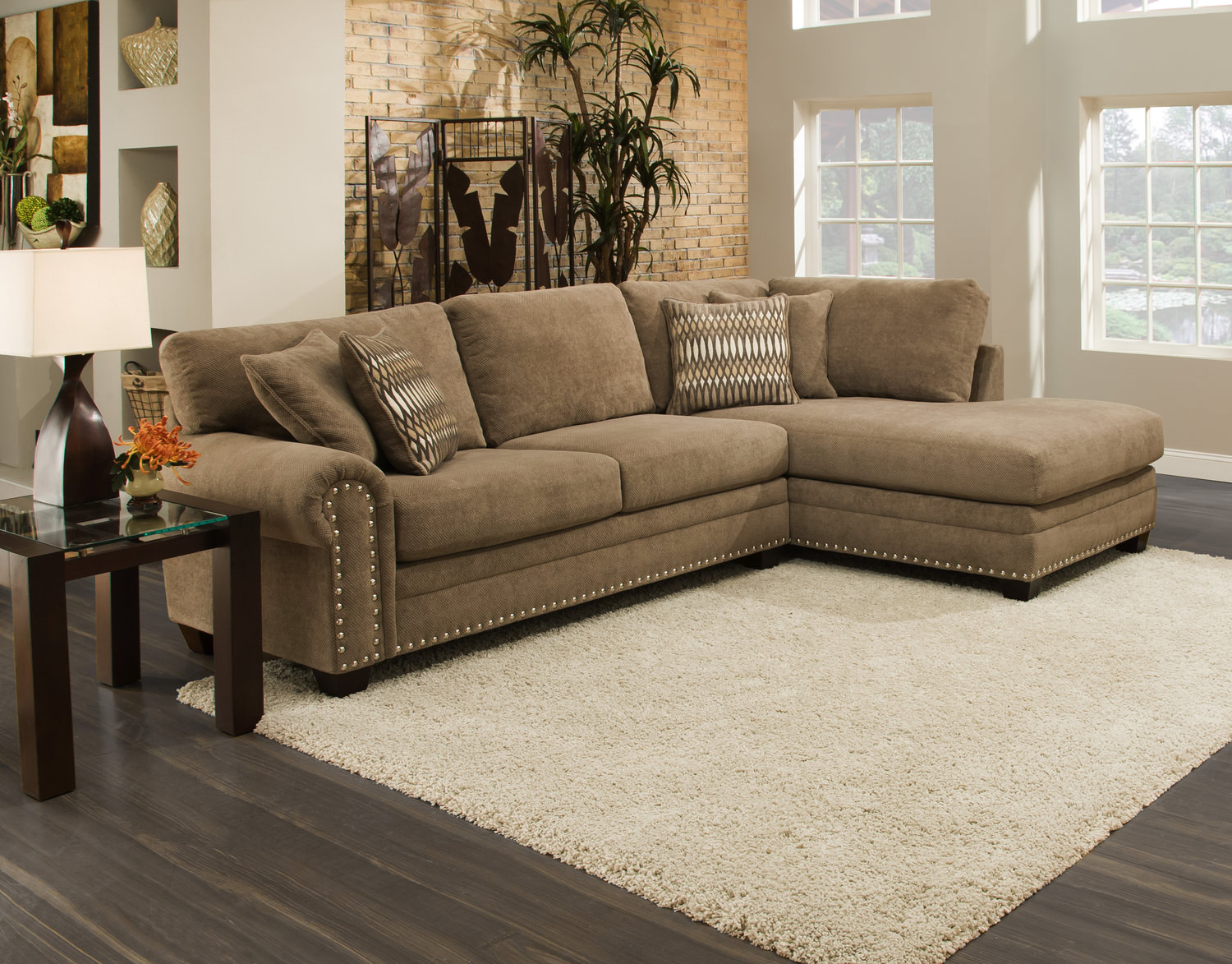 Cheap Sectional Couches | Modular Sectional | Microfiber Sectional