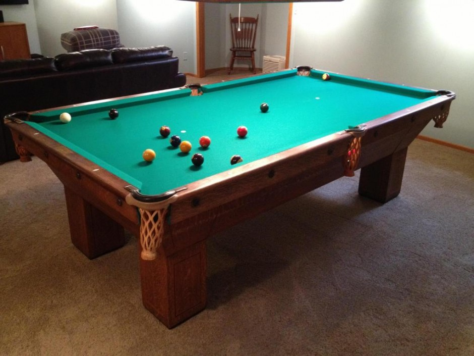 Chicagoan Pool Table | Mizerak Pool Table | 3x6 Pool Table