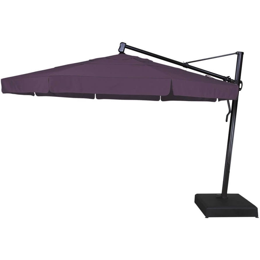Colorful Patio Umbrellas | Garden Treasures Offset Umbrella | Cantilever Umbrella Reviews