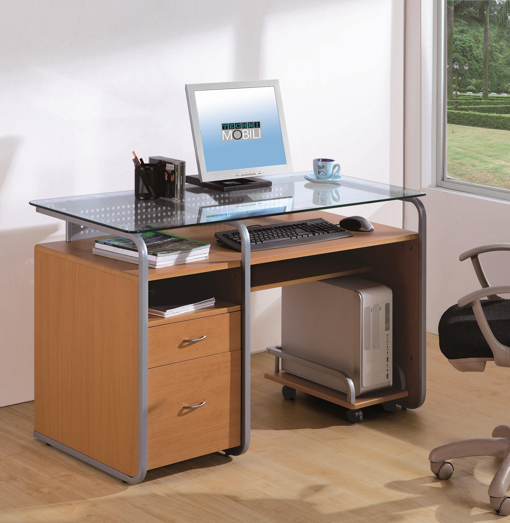 Computer Workstation Cabinet | Techni Desk | Techni Mobili