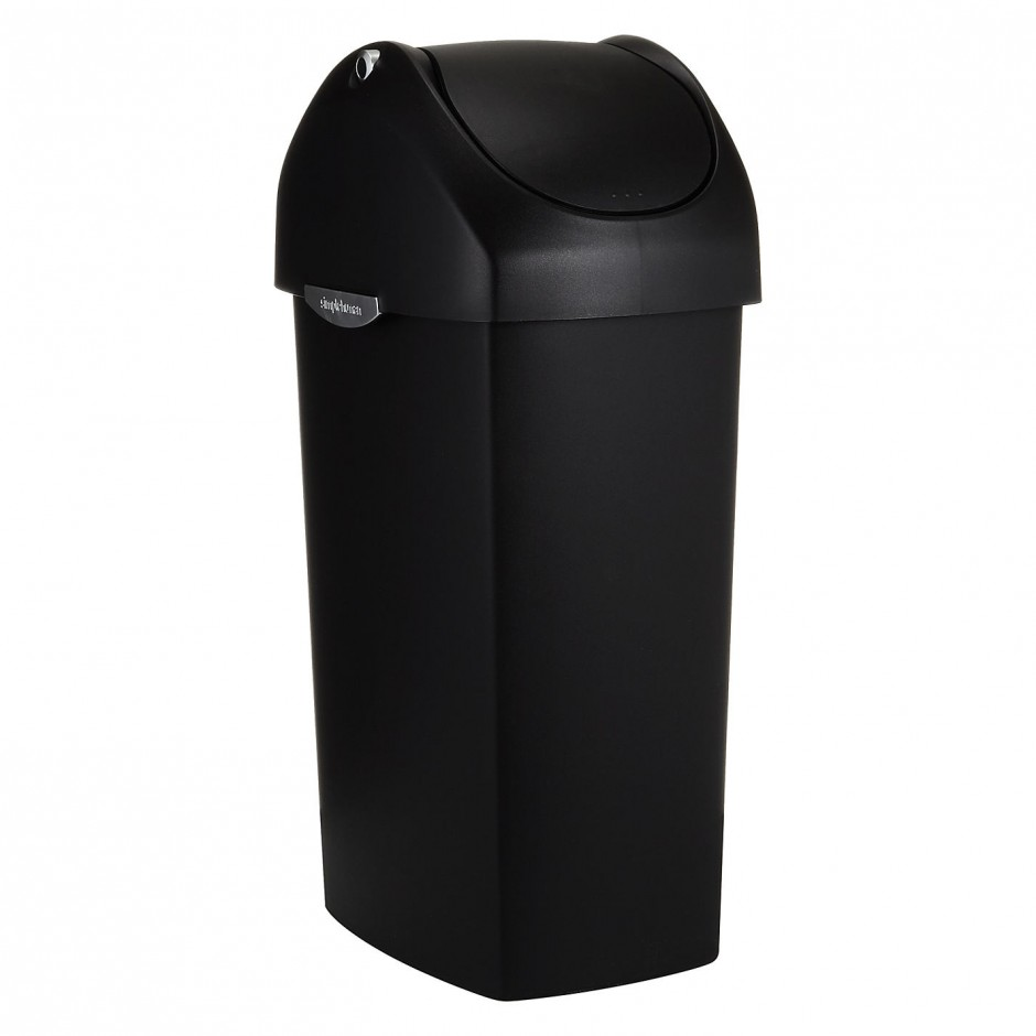 Container Store Garbage Cans | Simplehuman Recycler | Simplehuman 20 Liter Trash Can