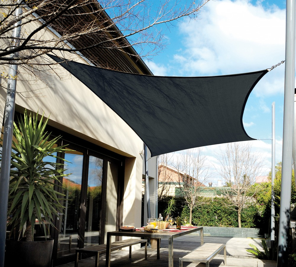 Coolaroo Sun Shade Installation Instructions | Coolaroo | Coolaroo Shade Sail Installation