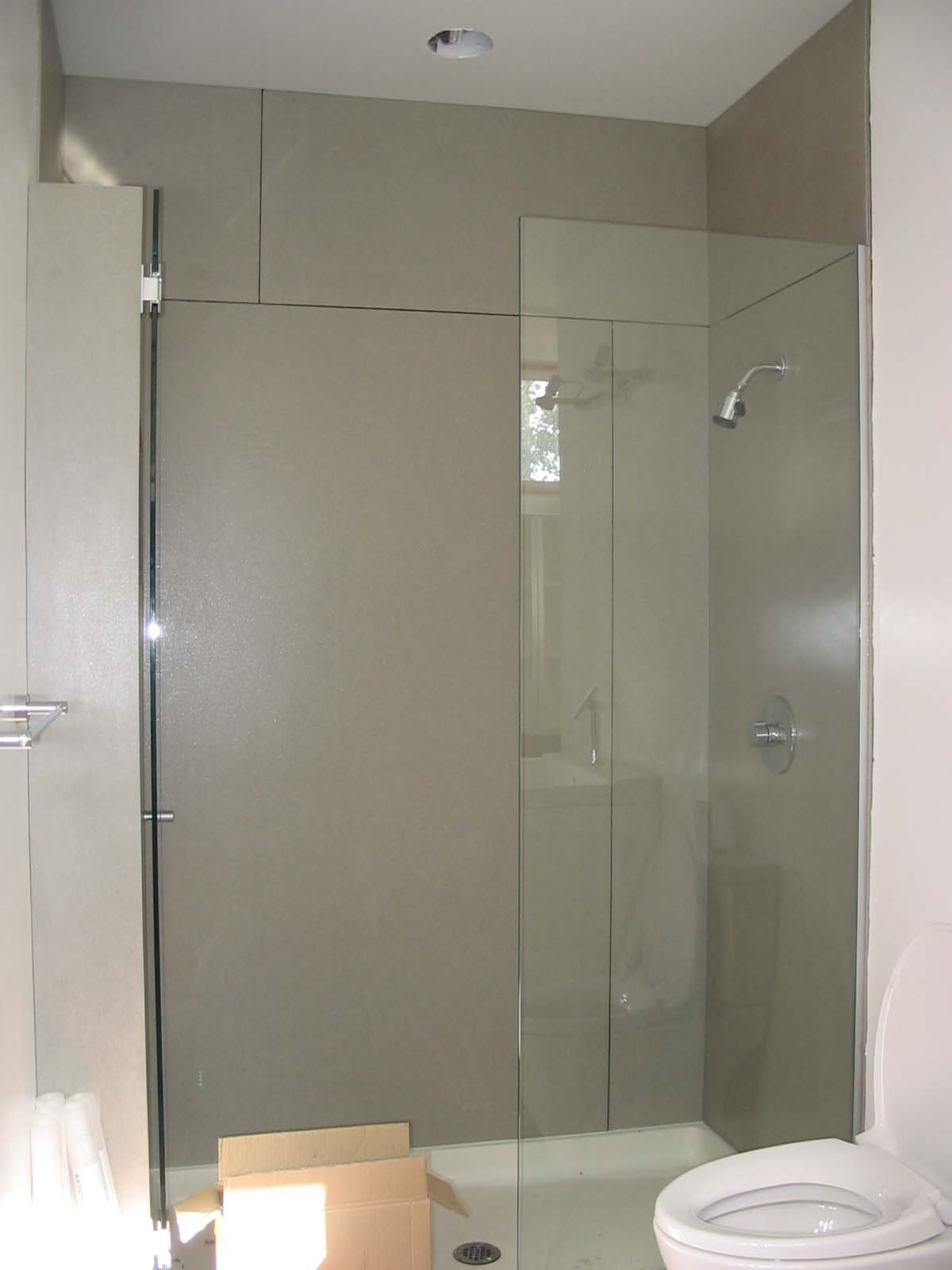 Corian Shower Walls | Swanstone | Resin Shower Wall Panels
