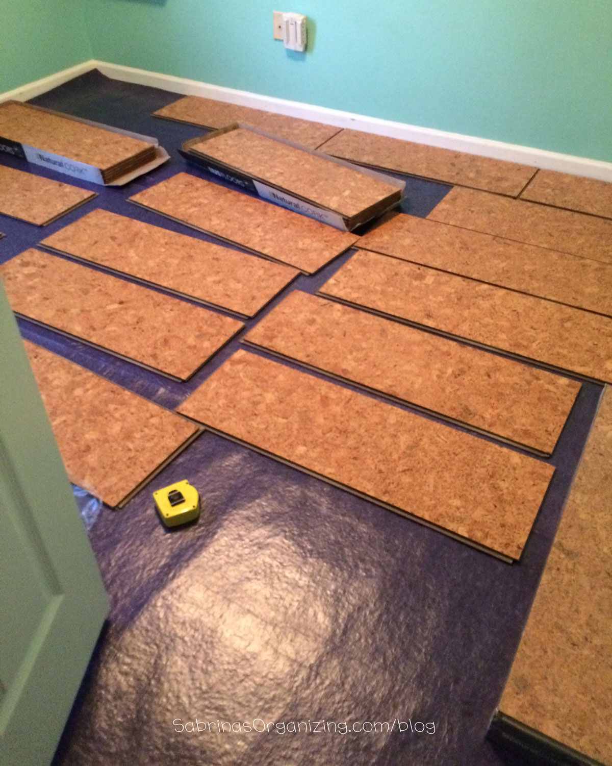 Cork Underlayment | 6mm Cork Underlayment | What to Put Under Laminate Flooring on Concrete