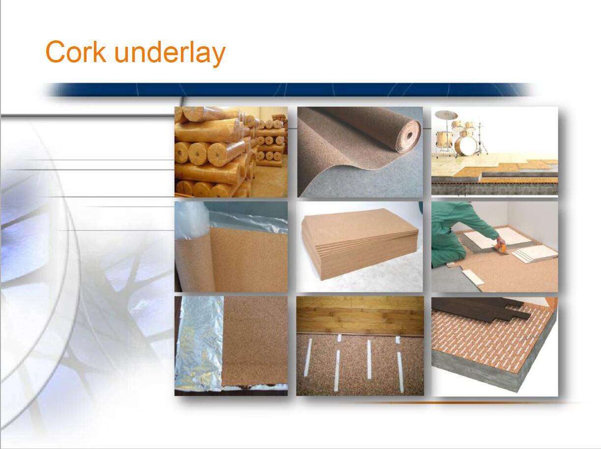 Cork Underlayment for Tile | Underlayment for Hardwood Flooring | Cork Underlayment