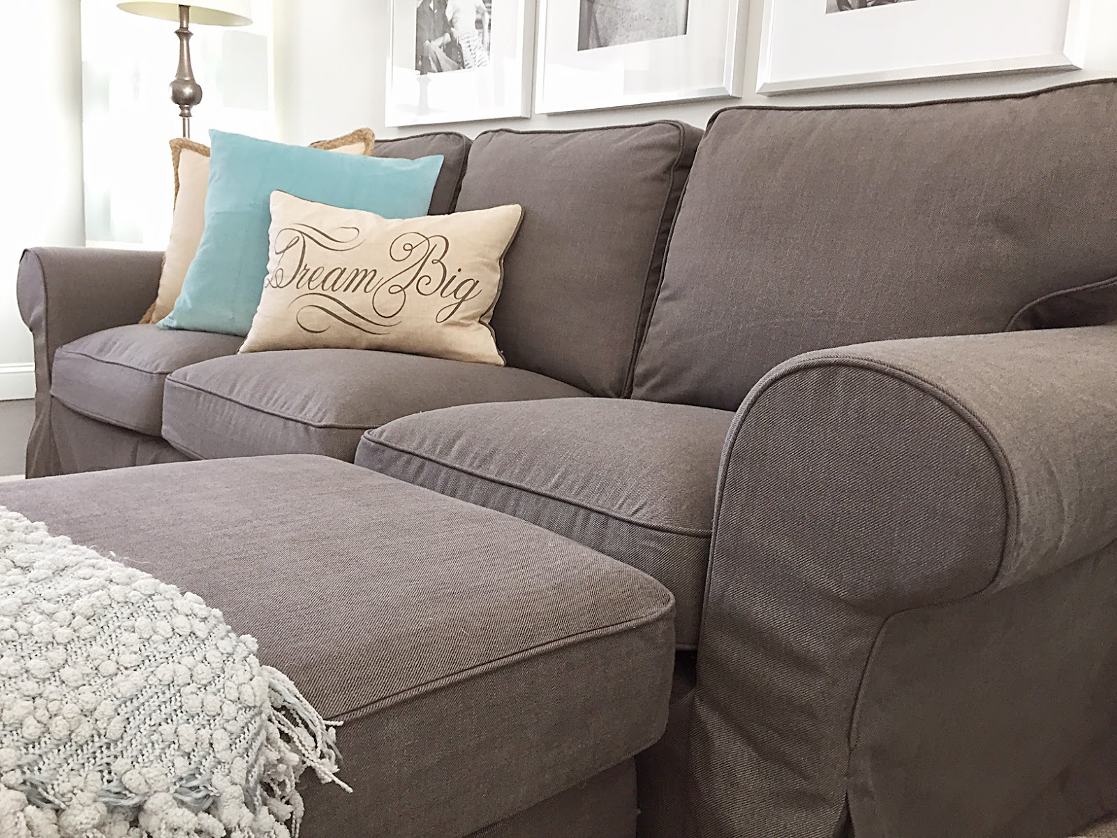 Couch and Loveseat Covers | Arm Chair Slip Covers | Slipcovers for Sofas with Cushions Separate