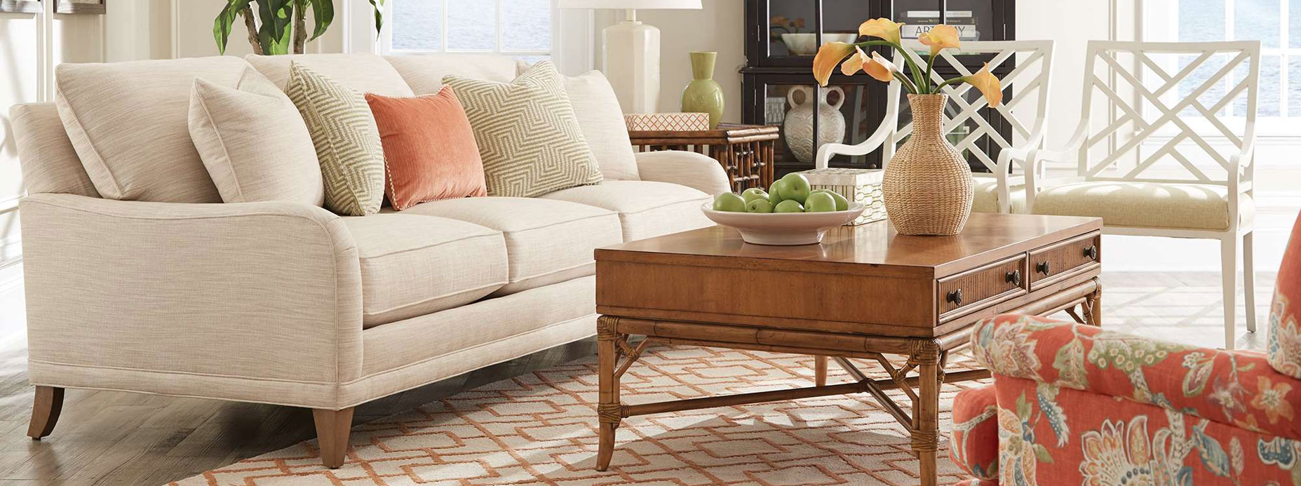 Crate and Barrel Slipcovers | Slipcovers for Sofas with Cushions Separate | Rowe Furniture Slipcovers