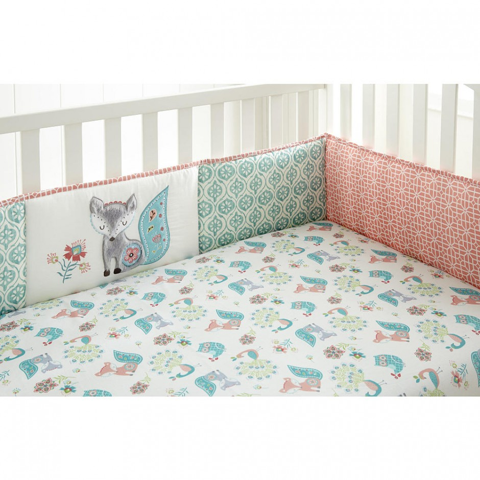 Crib Bumper Pad Pattern | Baby Crib Rail Covers | Crib Bumper Pads